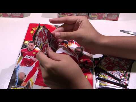 Manchester United 12 13 Official Sticker Collection Opening the Sticker Box Ep2