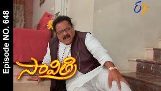 Savithri |29th April 2017 | Full Episode No 648| ETV Telugu