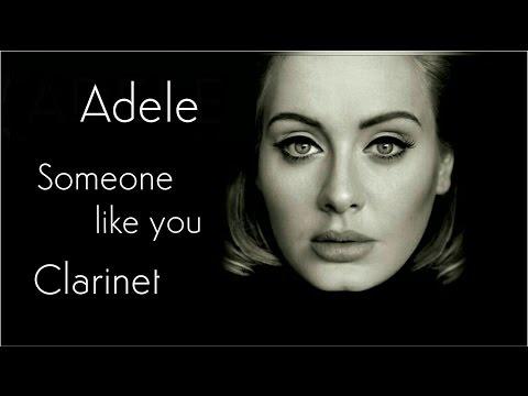 Adele  Someone Like You  Clarinet