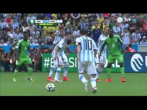Argentina 3 Nigeria 2 Mundial Brasil 2014   TV Publica