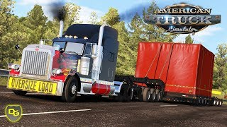 Mit POLIZEIESKORTE durch Washington! 🚔 - American Truck Simulator #2 - Daniel Gaming - Deutsch