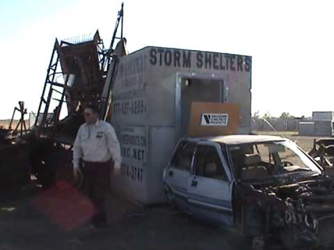 Storm Shelter Impact Test