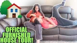 NEW FURNISHED HOUSE TOUR ‼️ tay & jass