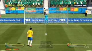 2014 FIFA World Cup Brazil - Cameroon vs Brazil Gameplay [HD]
