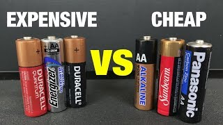 Expensive Batteries vs Cheap Batteries!