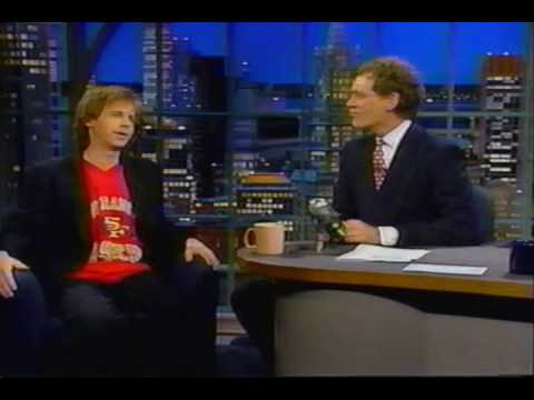 Dana Carvey with David Letterman 1992 Video