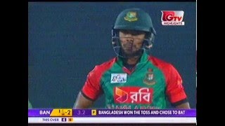 Sabbir Rahman's 80 Runs against Sri-Lanka in Asia Cup t20-2016.