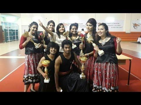 Manipal University Dubai Inter-Department Eastern Group Dance winners 2013 HD