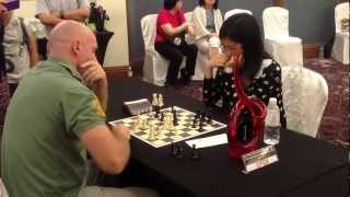HY Blitz Chess Challenge 2012: Colin Hornell vs GM Hou Yifan