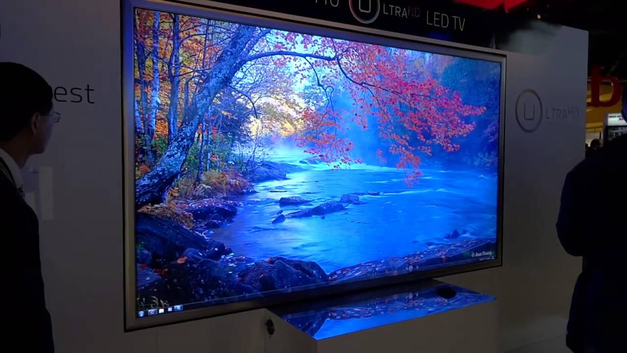 HISENSE 110\u0026quot; 4K LED TV \u0026 Transparent 3D TV - YouTube