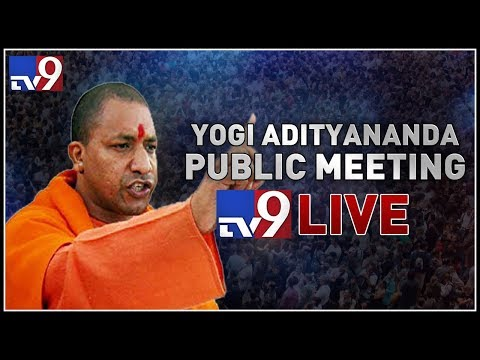 Yogi Adityanath addresses public meeting LIVE || Warangal - TV9