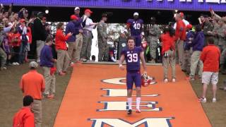 Download 2013 Clemson football seniors come down hill for last time 3Gp Mp4