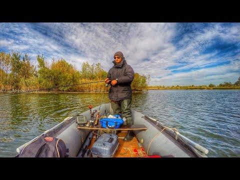 Рыбалка на Дону, ловля окуня в Ростовской области, отводной поводок, GoPro Hero 4, Timelapse