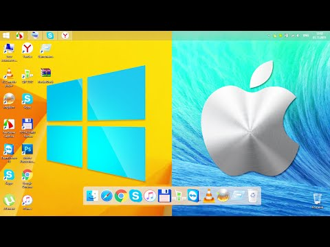 КАК СДЕЛАТЬ ПАНЕЛЬ В MAC OS НА WINDOWS - YT Channel Embed