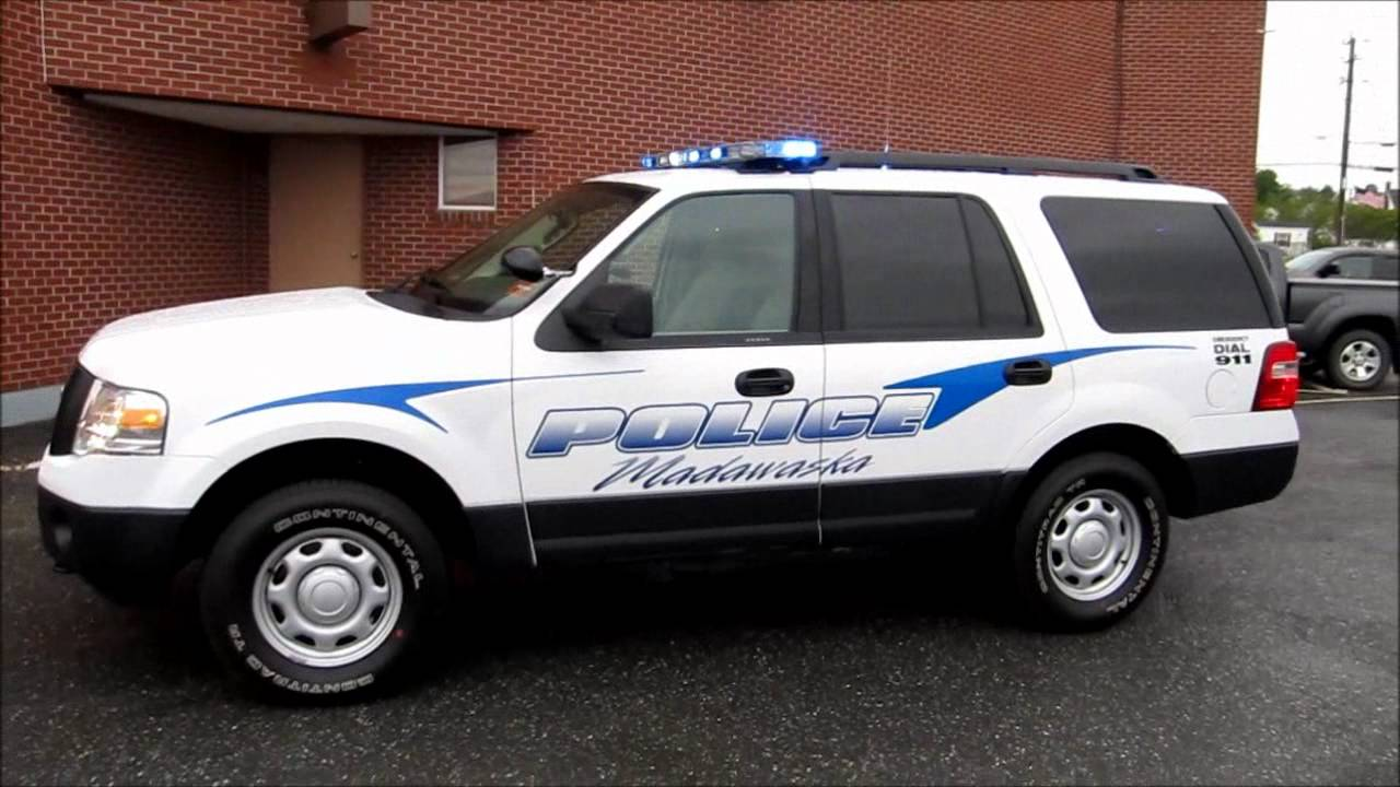 2011 Madawaska Ford Expedition Police Vehicle - YouTube