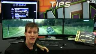 Galaxy MDT Multi Display Gaming Technology Set Up Guide & Showcase NCIX Tech Tips