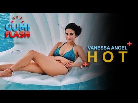 Berbikini di Kolam Renang, Vanessa Angel Seksi Banget - CumiFlash 15 Januari 2018