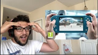 NINTENDO SWITCH LITE REVEAL TRAILER - LIVE REACTION