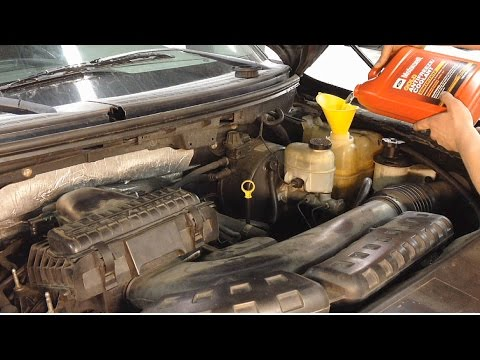 How To Perform A Coolant Flush On Your Ford Vehicle