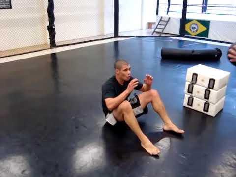 preparador fisico Andre Neumann circuit training - mma atleta Tuba - udl