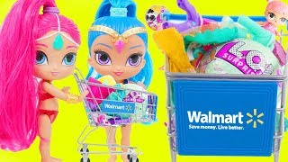 Shimmer and Shine Dress Up Rescue Game with LOL Surprise Dolls