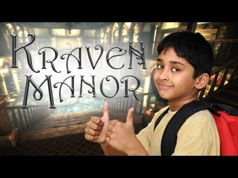 AMAZING FREE INDIE HORROR! - Kraven Manor (1)