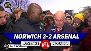 Norwich 2-2 Arsenal | Freddie Can't Fix Our Defence After One Training Session! (Claude)