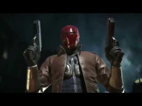 Injustice 2   Red Hood gameplay trailer - КРАСНЫЙ КОЛПАК