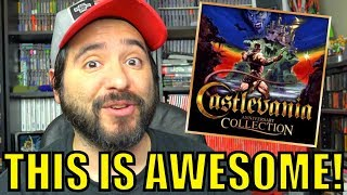 Castlevania Collection for Switch Is AWESOME!