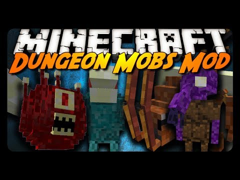 Minecraft Mod Review: HOSTILE DUNGEON MOBS!