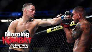 How Nate Diaz Became A Star On His Own Terms | MORNING KOMBAT