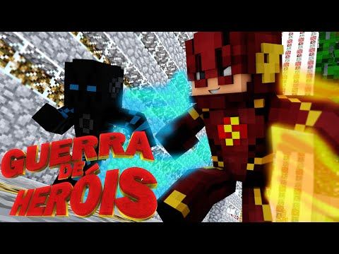Minecraft : FLASH VS ZOOM - GUERRA DE HEROIS