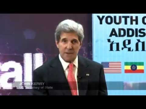 BBC HardTalk John Kerry in Addis Ababa May 2013