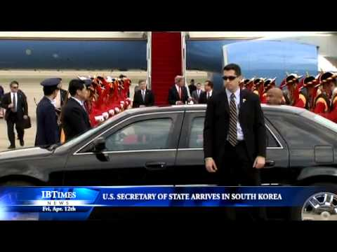 US Secretary Of State John Kerry Arrives In South Korea