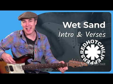 Wet Sand  Red Hot Chili Peppers Part 1 John Frusciante Guitar Lesson Tutorial ST364