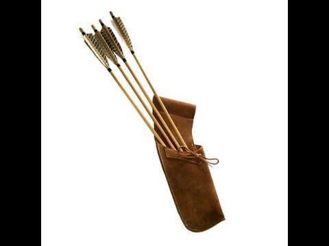 Как сделать стрелами