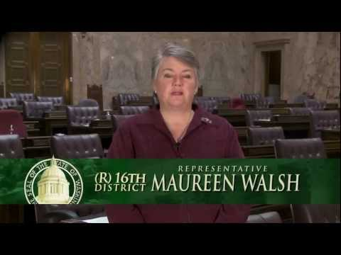 Representative Walsh Legislative Update 012412