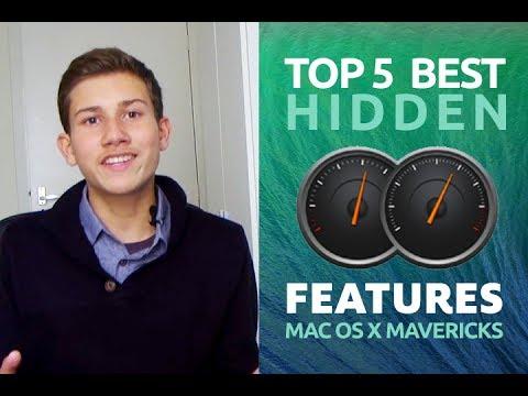 Why install Mac OS X 10.9 Mavericks (Top 5 - Best Hidden Advanced Features)