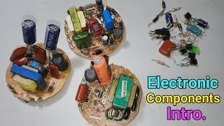 Basic Electronic components Intro.।। How components work !! #04