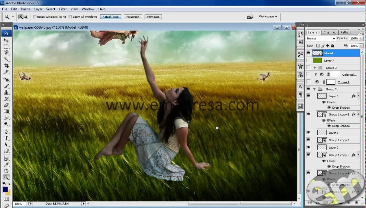 Adobe Photoshop Tutorials in Urdu Designing Dream Sean Urdu Tutorial ...