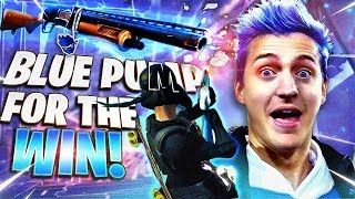 BLUE PUMP SHOTGUN FOR THE WIN!! W/ FAZE FUNK, NATE HILL & REVERSE2K