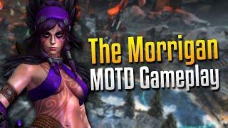Smite: PARANOIA!- The Morrigan MOTD Gameplay