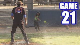 PLAYING WITH THE SPRINKLERS ON! | On-Season Softball Series | Game 21