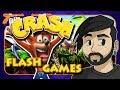 Crash Bandicoot Flash Games - gillythekid ft. Caddicarus