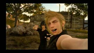 When you go two weeks without sleep in Final Fantasy XV🛌 (satisfying)
