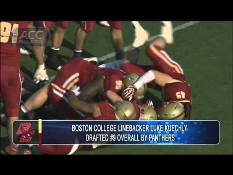BC LB Luke Kuechly Drafted by Panthers