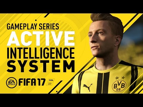 FIFA 17 Gameplay Features - Active Intelligence System - Marco Reus
