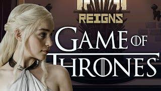 Суровое правление королевы драконов!   Reigns - Game of Thrones