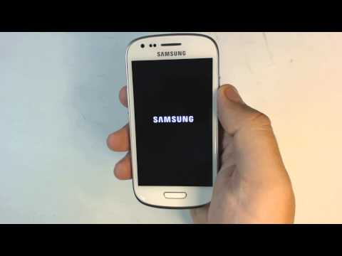 Samsung Galaxy S3 mini I8190N - How to reset - Como restablecer datos de fabrica