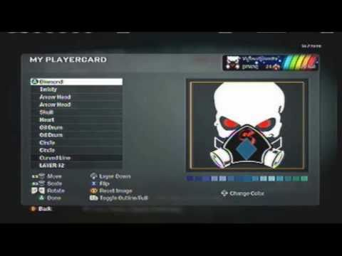 Black Ops Emblem - Skull Gas Mask (VS EDITION)